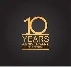 Celebrating 10 years of business!